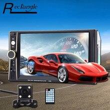 Новый 6.5 дюймов автомобиля MP5 плеер 2 din мультимедиа fm Радио видео 1080 P bluetooth usb аудио MP3 Дистанционное управление сзади вид Камера