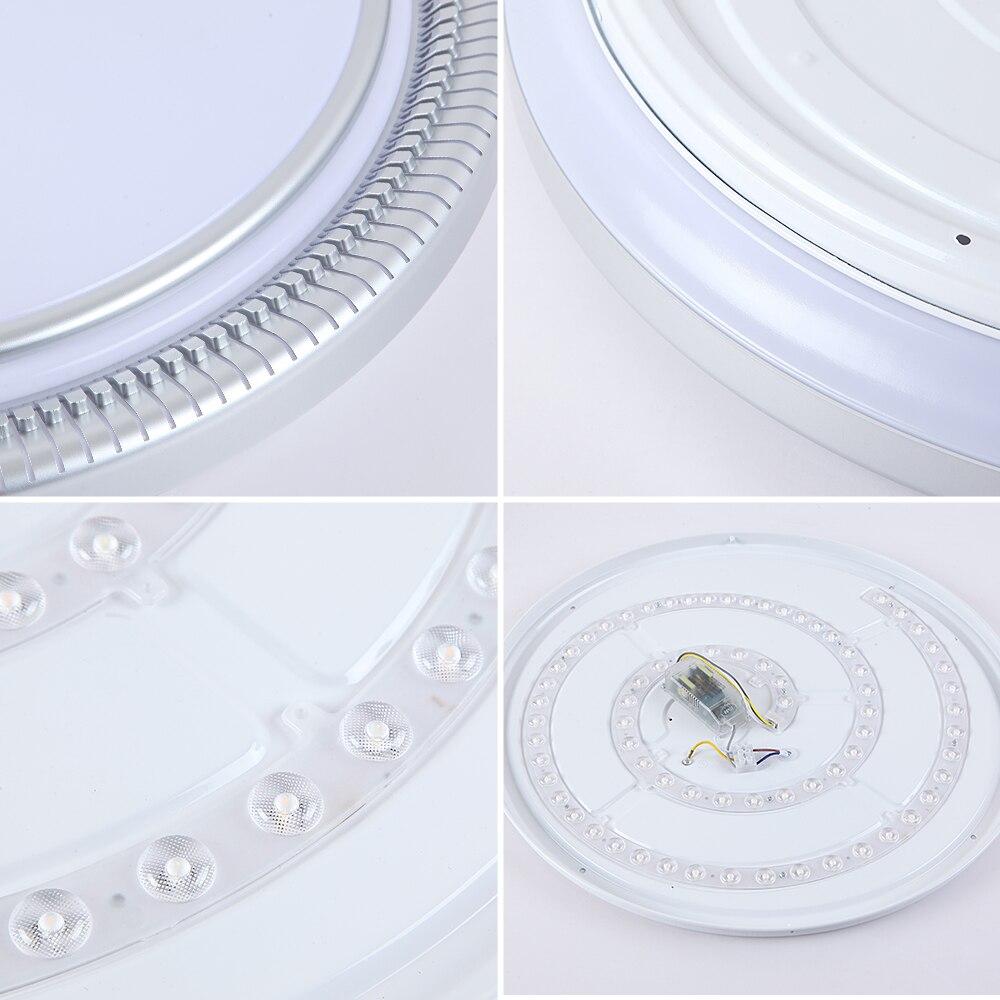 Moderne 220v 80w Ronde LED Plafond Verlichting Lampen Armaturen met Afstandsbediening voor Indoor Thuis Huis Woonkamer keuken Slaapkamer - 5