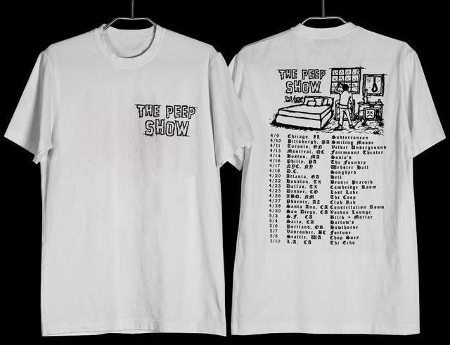 white tee shirt lil peep