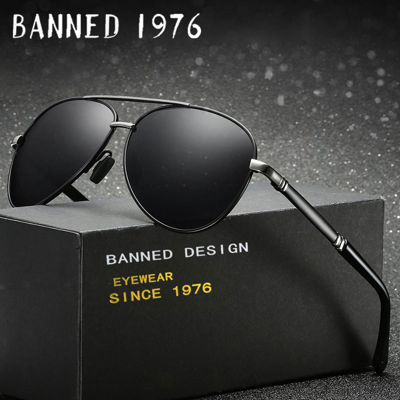 Mens HD Polarized Mens Sunglasses Mirror Sun Glasses pilot Goggle Eyewear Accessories For Men Female fashion oculos de sol