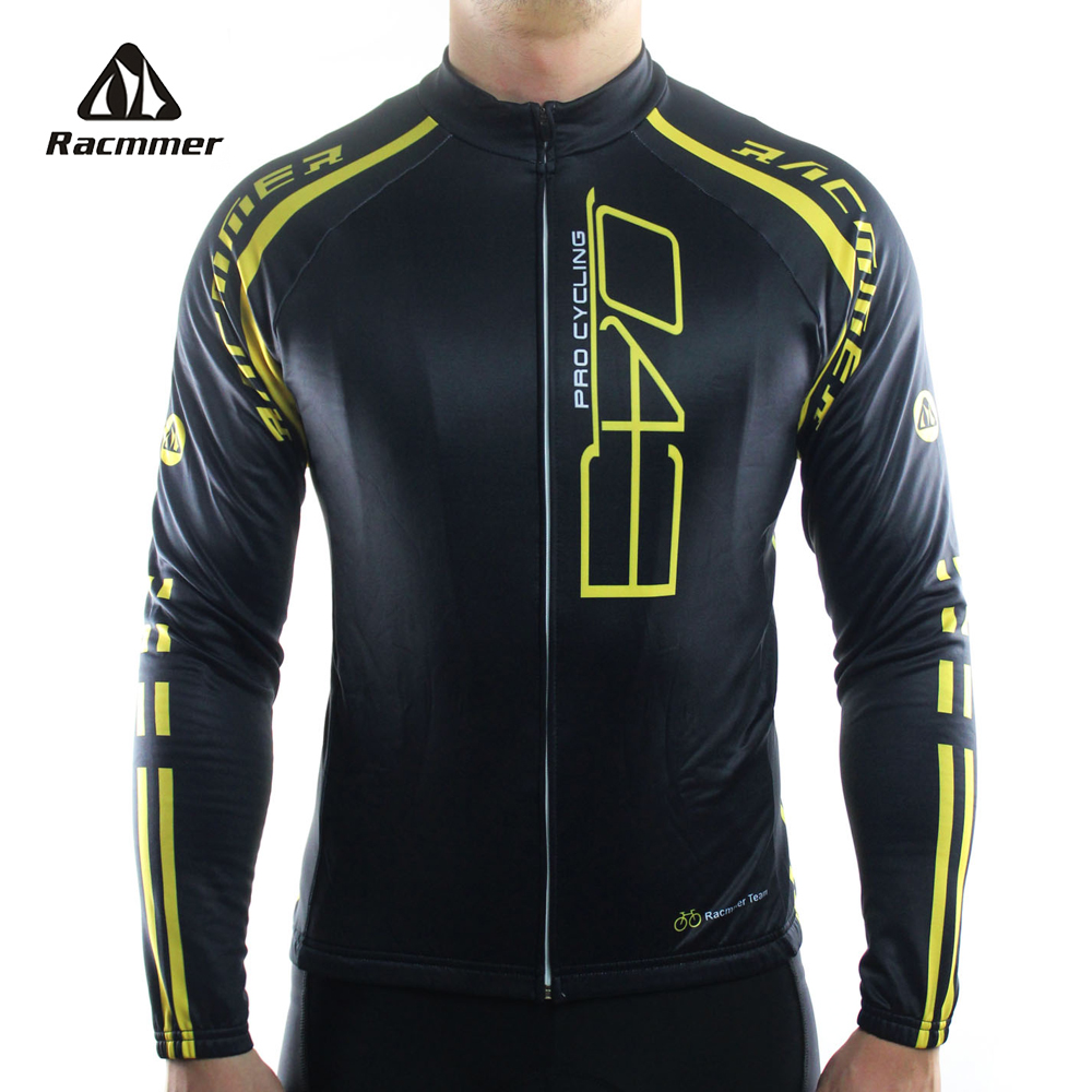 Racmmer 2018 Cycling Jersey Long Sleeve Mtb Clothing Bike Wear Clothes Kit Bicycle Maillot Roupa Ropa De Ciclismo Hombre #CX-18 xintown cycling clothing men long sleeve bike wear jersey sleeve suite mtb bicycle maillot ropa ciclismo sportswear roupa