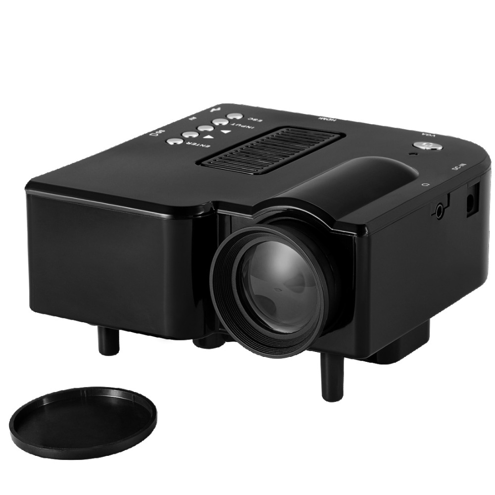 Mini led proyector de vivibright 5S dinámico de vídeo 1080 p/4 k decodificación,