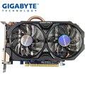 Usado, gigabyte gtx 750 ti 2g windforce placa gráfica duplo ventilador de refrigeração dupla dvi dupla interface hdmi para lol csgo pubg