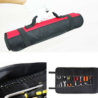 Motorcycle Tool Storage Bag Roll-up Mixed Wrench Spanner Socket Package Holder NEW