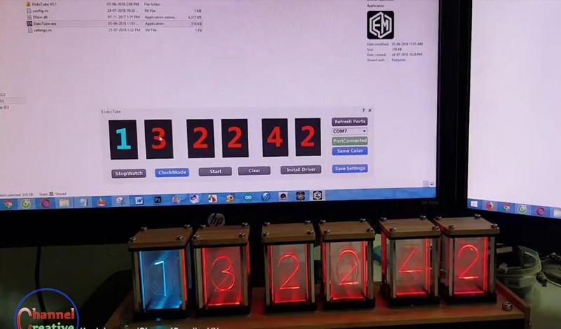 Elekstube Digital Clock 9