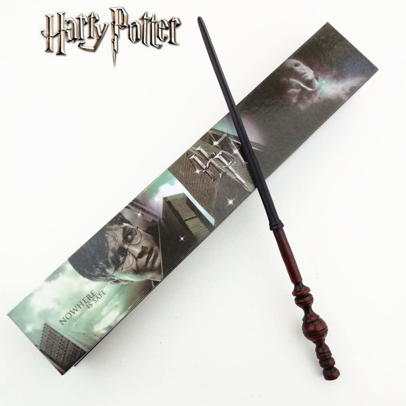 Cosplay Minerva McGonagall Play Magical Magic Wand Gift In Box Metal Core Harry Potter Magical Wand harry potter ollivanders dumbledore the elder wand in box prop replica