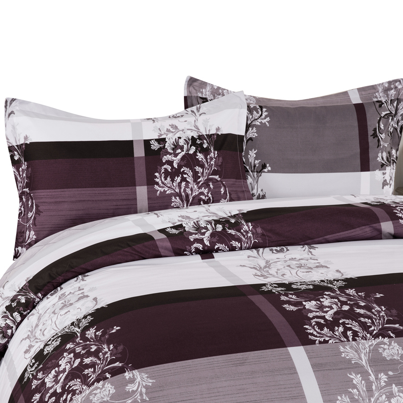 Wongs Bedding Brand Floral Bedding Sets 3PCS Duvet Cover Bed Set Double Queen King Size Home Textiles in Bedding Sets from Home Garden