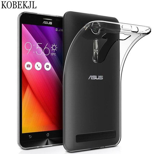 the best attitude 7c99f 92b35 Soft Transparent TPU Back Cover Phone Case For Asus Zenfone 2 Laser ZE550KL  ZE ZE550 550 550KL KL Z00LD ZOOLD 5.5 Case Silicone