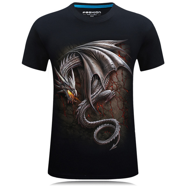 Dragon Smaug 3D T Shirt