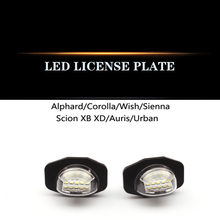 For Toyota Corolla WISH Overlord ALPHARD Erfa 20 Series LED license plate headlight assembly