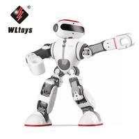 Wltoys F8 Доби интеллектуальные гуманоид голос Управление Многофункциональный приложение Управление RC DIY робот игрушки новое поступление