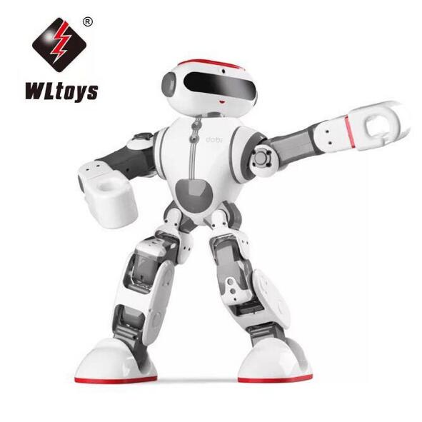 Wltoys F8 Dobi Intelligent Humanoid Voice Control Multifunction App Control RC DIY Robot Toys New arrive lacywear dg 45 app