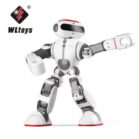 Wltoys F8 Dobi Intelligent humanoïde commande vocale multifonction App contrôle RC robot à monter soi-même jouets nouvelle arrivée
