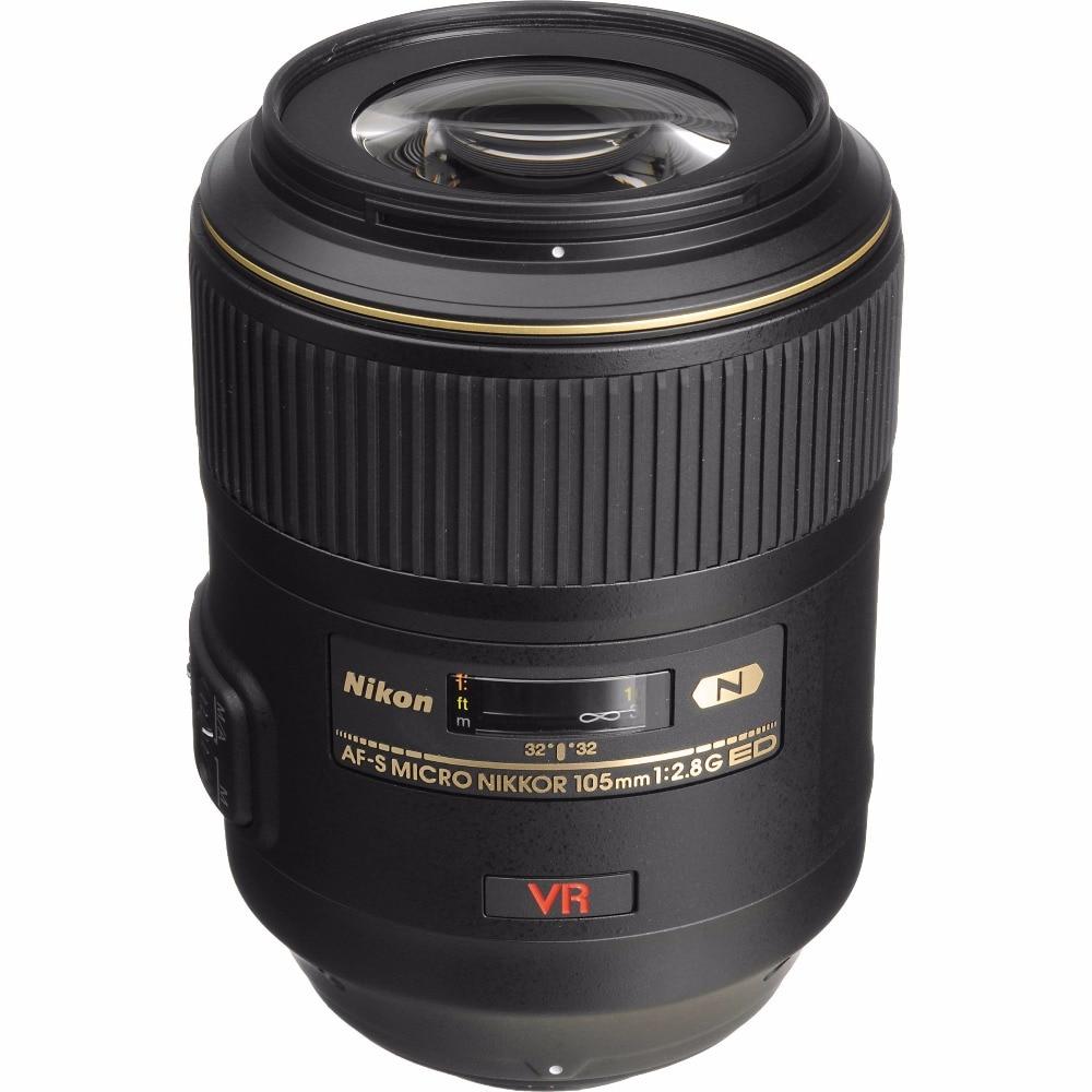 Nova Nikon AF-S 105mm f/2.8G ED IF VR Lente Nikkor Micro