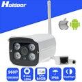 960 P 6 мм объективом P2P Wi-Fi Ip-камера Открытый Водонепроницаемый Ик день и Ночного Видения камеры видеонаблюдения оповещение По Электронной Почте, Карты ПАМЯТИ слот