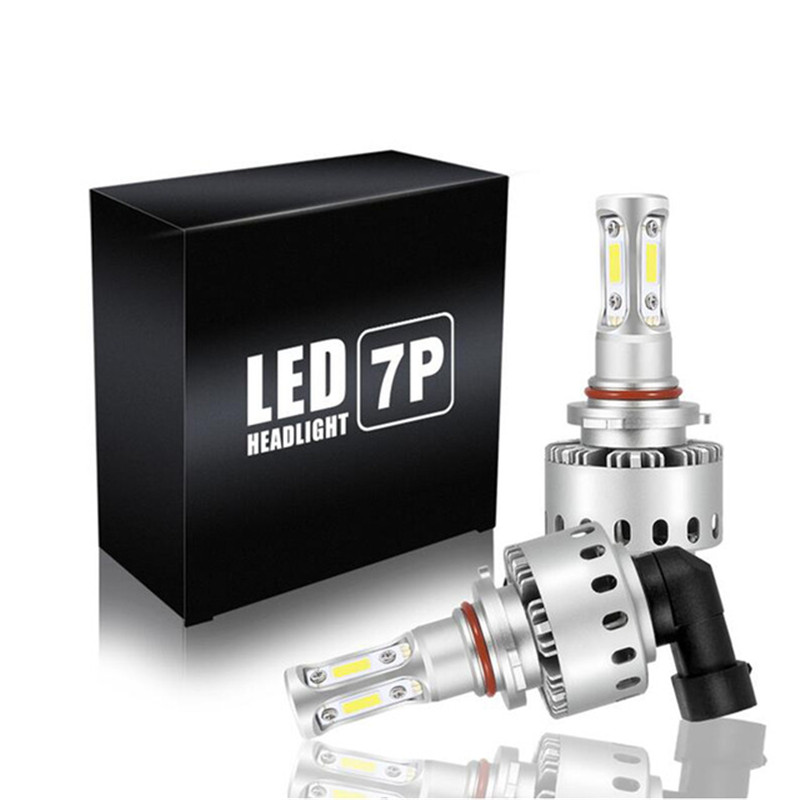 Car Headlight H7 H4 LED Bulb H1 H11 H8 HB3 9005 HB4 9006 H3 9012 HIR2 Bulbs COB Chips 90W 12000lm 6000K 12V LED Auto Fog Light