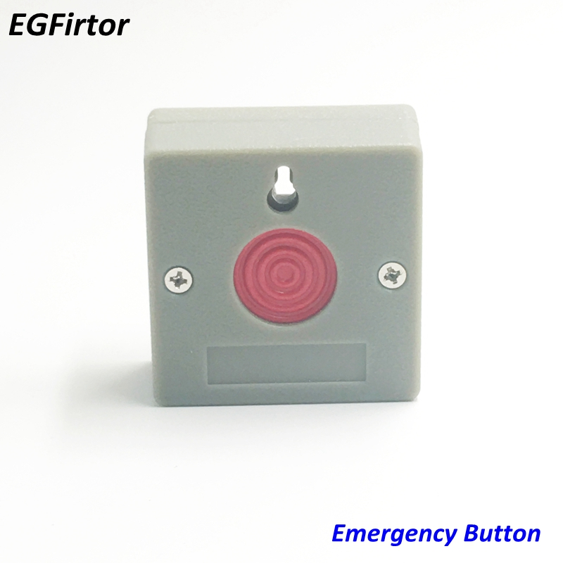 5Pcs Usage Emergency Panic Button Fire Alarm Switch Security Key Reset for Home