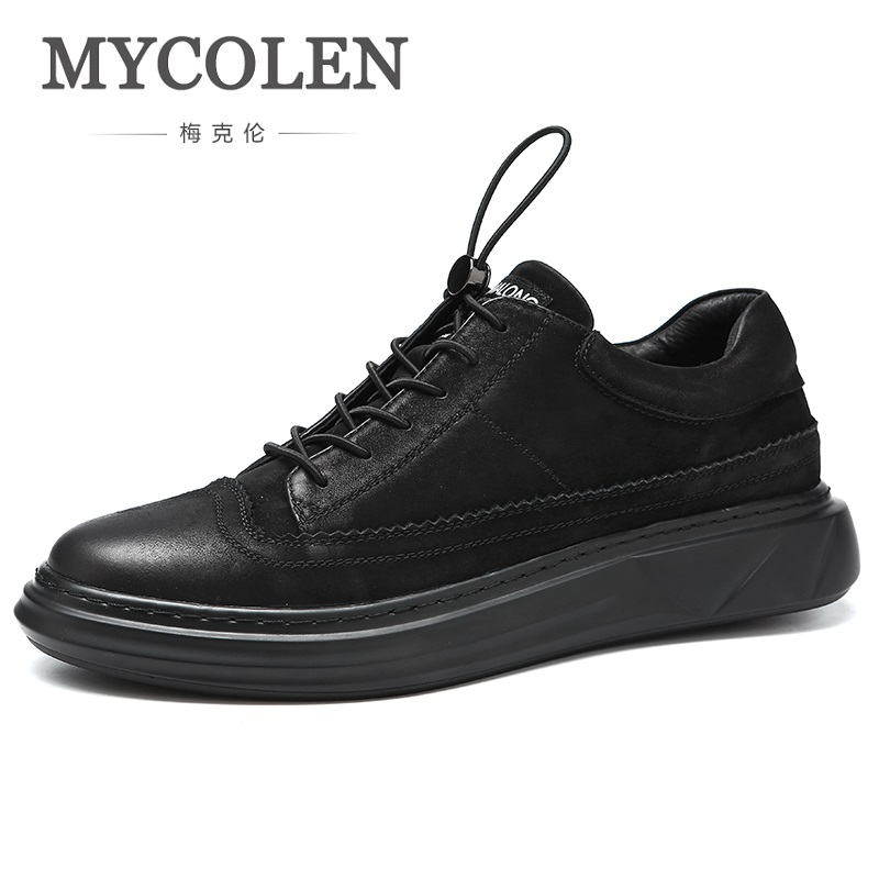 MYCOLEN 2018 The New Listing Minimalist Design Casual Men Shoes Fashion Sneaker Comfort Luxury Brand Lace-Up Men ShoesMYCOLEN 2018 The New Listing Minimalist Design Casual Men Shoes Fashion Sneaker Comfort Luxury Brand Lace-Up Men Shoes