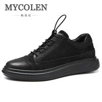 MYCOLEN 2018 The New Listing Minimalist Design Casual Men Shoes Fashion Sneaker Comfort Luxury Brand Lace