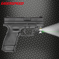 Pistol Mini Light Gun LED Tactical Weapon Light Airsoft Military Hunting Flashlight For Glock Self Defense Laser
