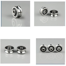 [SG15-10] Free Shipping  double row ball bearing SG15-10RS 5mm*17mm*8mm track guide V17 bearing roller цена 2017