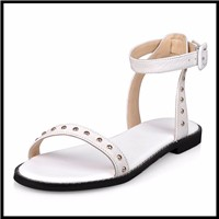 DoraTasia-Punk-Rivet-Genuine-Leather-Sandals-2017-Ankle-Strap-Flat-Heel-Summer-Shoes-Woman-Black-White