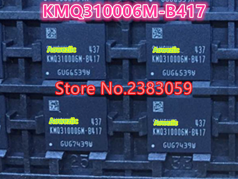 (1PCS) (2PCS) (5PCS) (10PCS) 100% New original   KMQ310006M-B417  BGA  memory chip    KMQ310006M B417 1pcs 2pcs 5pcs 10pcs 100
