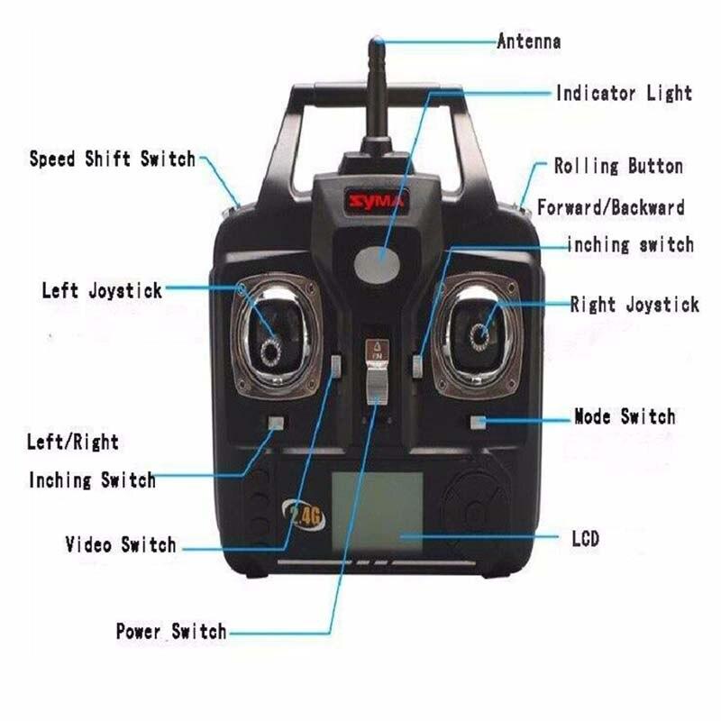 Nuevo 2017 2.4G 6 CANALES 6axis X5SC RC Drone Quadcopter Helicóptero con 2.0MP H