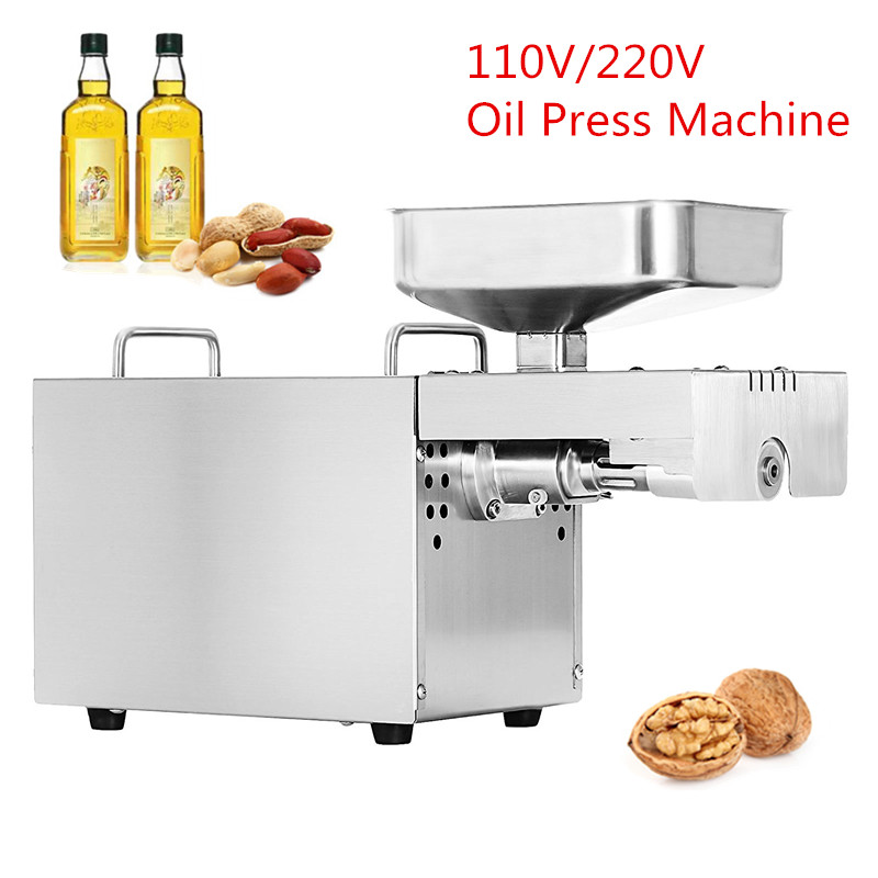 Home Use Mini Oil Pressing Machine Soybean Family Oil Pressure Cold Peanuts Stainless Steel Oil Press Machine free shipping home use cold olive oil press machine nuts seeds oil presser pressing machine all stainless steel peanuts oil