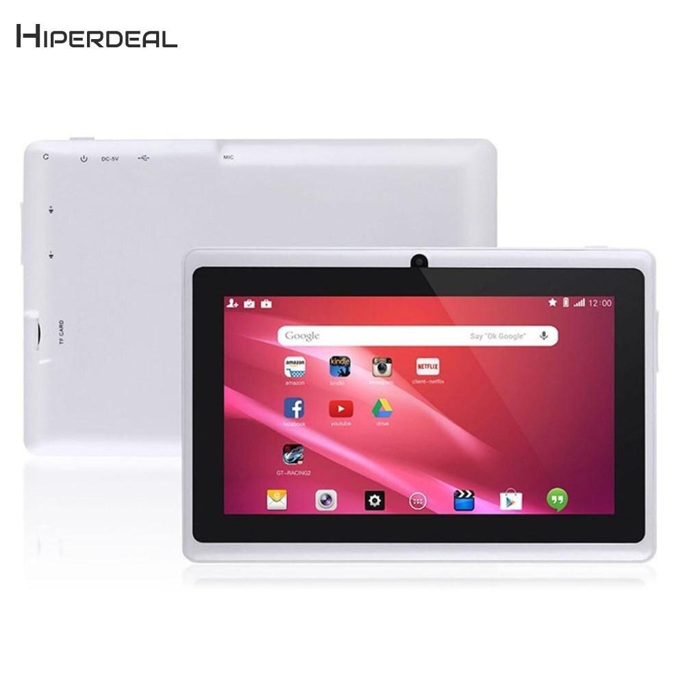 HIPERDEAL lecteur MP4 intelligent 7 pouces Google Android 4.4 Quad Core tablette PC 1 GB + 8 GB double caméra enfants cadeau lecteur de film de musique