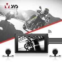 SYS велосипедная камера M2F Wi Fi экшн камера на мотоциклетный шлем видеорегистратор для автомобиля с двойной SONY IMX323 1080 P спереди и заднего вида