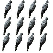 GUGULUZA дюжина реалистичные Dove Decoys голубь птица Decoy для охоты сад декоративные(упаковка из 12