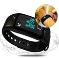 Smartband hongsund t1 bluetooth 4.0 pulseira inteligente com rastreador android pk xiaomi mi 2 pulseira banda com monitor de freqüência cardíaca