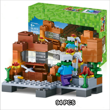 My World Series Box Set Model Educational Classic Building Blocks Compatible Mine World Brick for Kids and Children 342pcs my world series tree house in island model building blocks compatible legoed minecrafted village brick toys for children