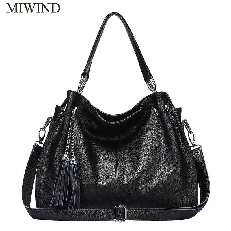 Free Shipping MIWIND Fashion Handbags Famous Brand Bags High Quality Buckle Handbags Women Genuine Leather Shoulder Bag WU2645 hot selling 2017 new fashion women handbags high quality speedy bag with starp free shipping