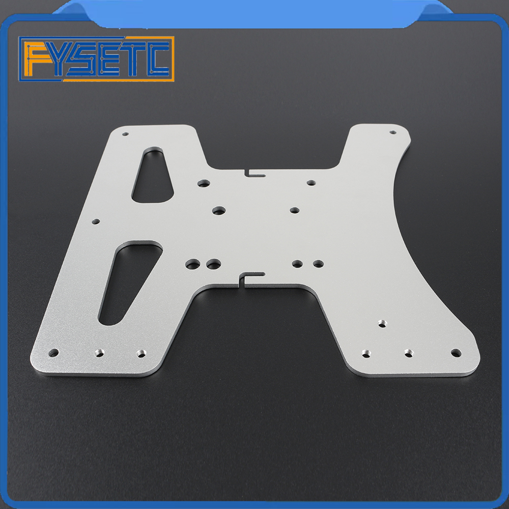 Image 5 - Cloned Aluminum Y Carriage Plate Kit Heated Bed Supports 3 Point Leveling For Creality Ender 3 Ender 3 Pro Ender 3S 3D Printer-in 3D Printer Parts & Accessories from Computer & Office