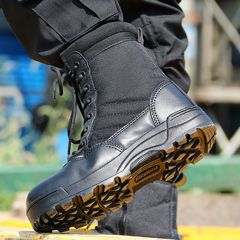 Hot DealsMen Shoes Boots Desert Tacticos Working Army Militares Zapatos Feamle