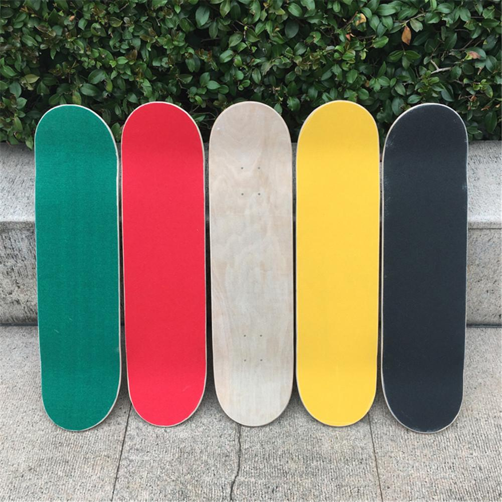 84*23cm Skateboard 4 Wheel Sandpaper Griptape Wear-Resistant Thickening Large Deck Sandpaper Griptape For Skateboarding