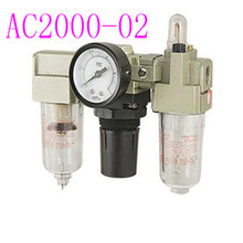 Pneumatic Air Pressure Filter Regulator Compressor Oil Water Separator source processor AC2000-02 Air Filter Regulator цены