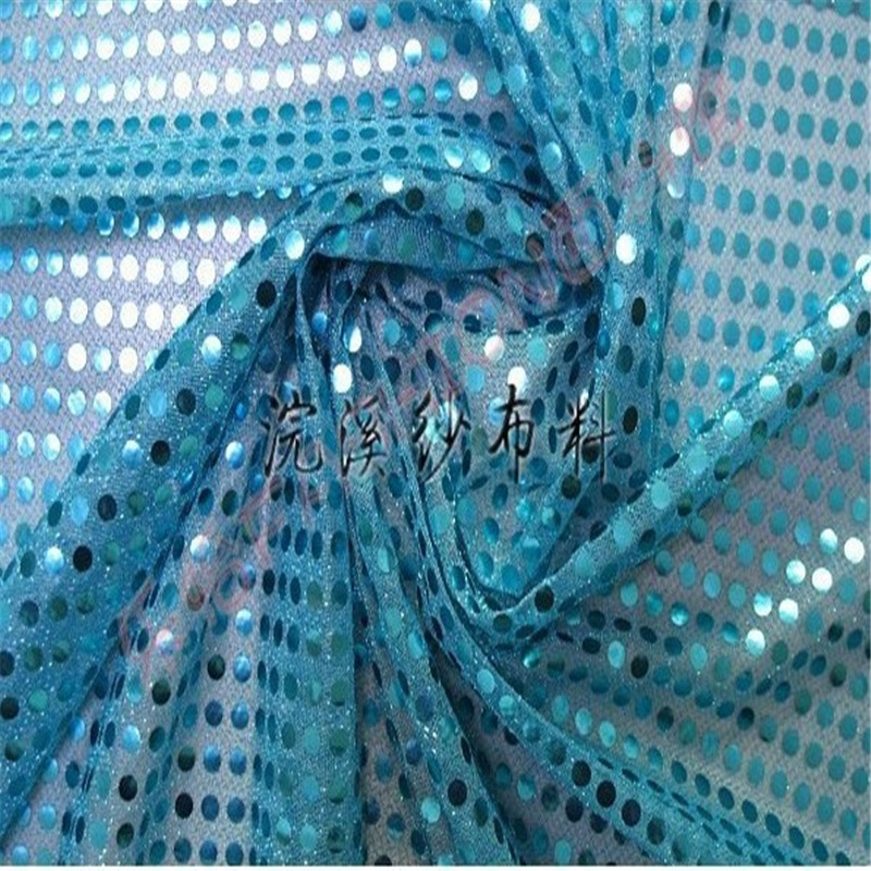 High Quality 5Yard Lot 6MM African Sequin Embroidery Mesh Fabric Material Textile For Sewing Dance Cloth Wedding Backdrop Diy in Fabric from Home Garden