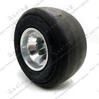 168 go kart 5 inch wheels beach car accessories drift wheel 10X4.5 5 kart tire + highway hub Front Wheels