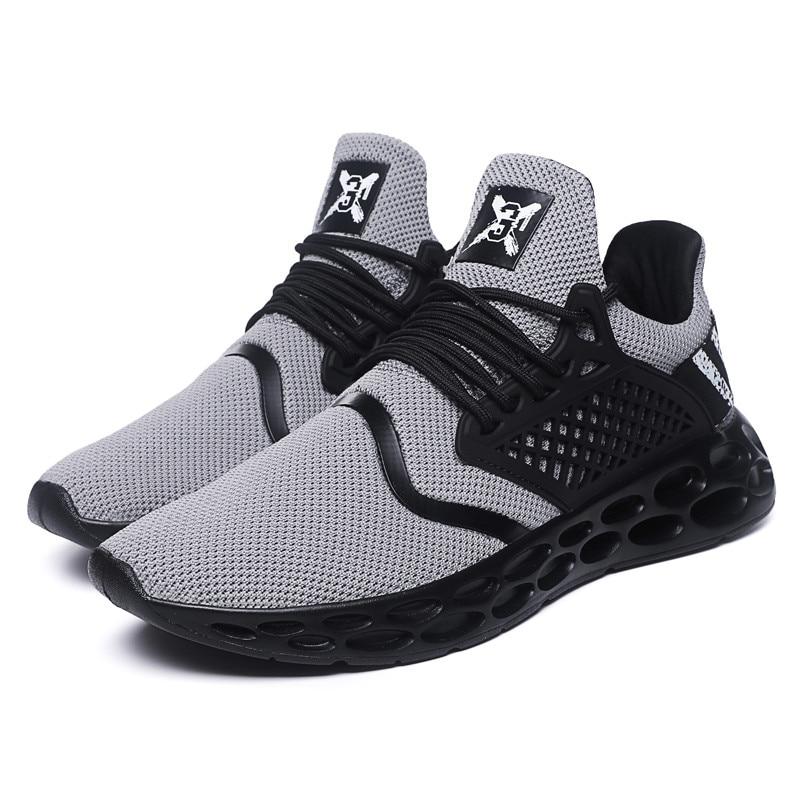 Zapatillas Masculino Entrenadores grey Cordones red Star Adulto Super Zapatos Zapatostenis Transpirable Moda Casuales Calzado Hombres Hombre Black Td5wBTx