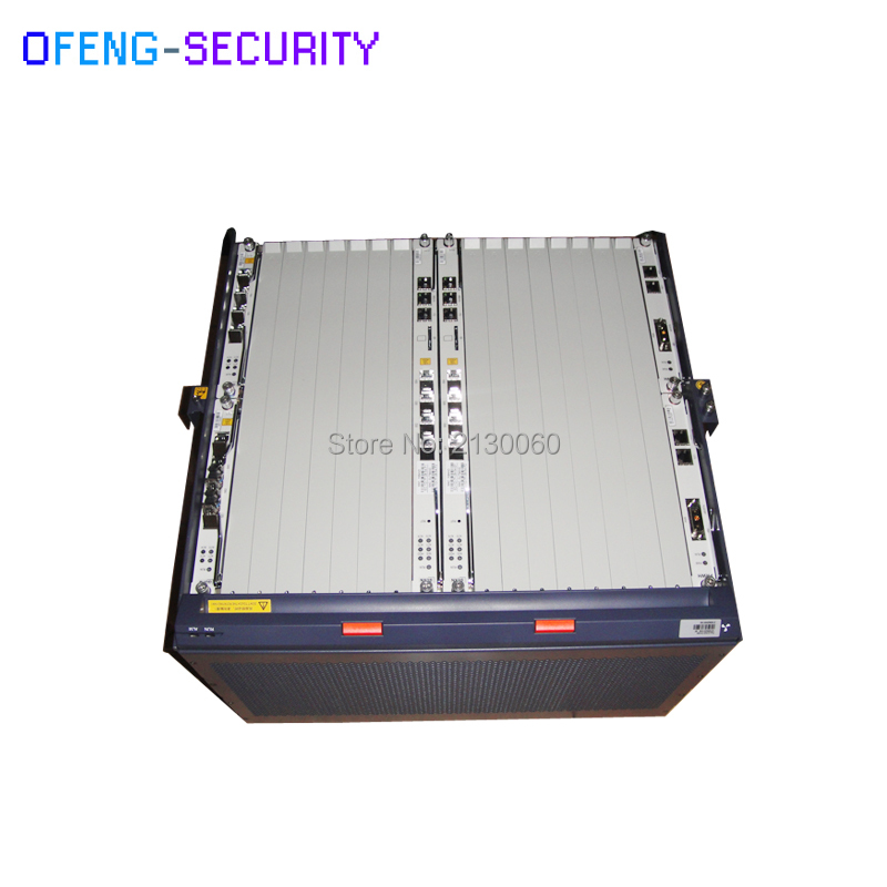 ZTE C300 Gpon Olt  Chassis With Fans + 2*SCXN + 2*HUVQ + 2*PRWH +1*GTGH C+