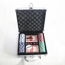Бокс-Сет Покер Набор для Чипсов-100 шт. Фишки Для Покера Дилер Жалюзи Игральные Карты, Настольные Игры