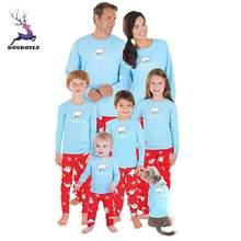f7049a7ac7475 Famille noël pyjamas ensemble chaud adulte enfants filles garçon maman  vêtements de nuit mère fille vêtements correspondant tenu.