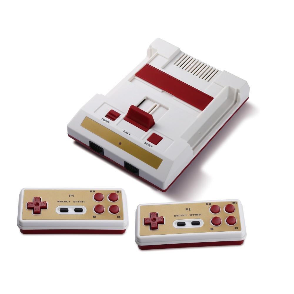 Hamy 8 бит fami/денди Classic Edition ТВ игровой консоли с двумя беспроводными контроллерами с 88in1 игры с HD функция 720 Точек на дюйм