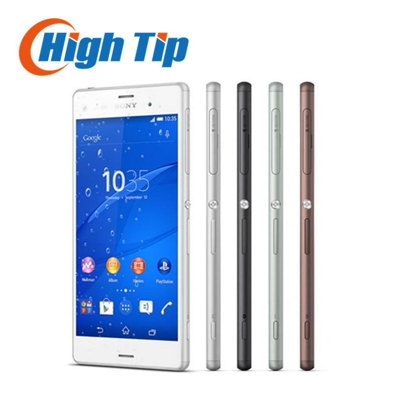 Original Unlocked Sony Xperia Z3 D6603 Quad Core 5 2 TouchScreen 3G 4G 3GB RAM 16GB