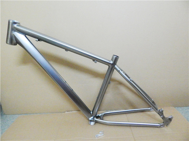 Aluminum alloy super 6066 mountain bicycle frame 26*17 inch Polish ...
