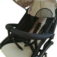 New Baby Stroller Accessories leather or EVA handrest Armrest Bumper Handrail fit Babyzenes Yoyo Yoya I.BELIVE Pram Bar