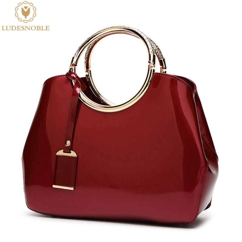 LUDESNOBLE Bags Handbags Women Famous Brands Women Bag Women Messenger Bags Leather Handbags Bags Bolsas De Luxo Mulheres Sacos hotfrost v 118 f